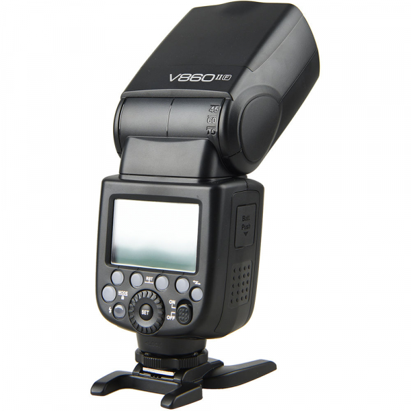 Godox Ving V860F II kit blitz      2.4G Wireless E-TTL pentru Fujifilm numar director 60 4