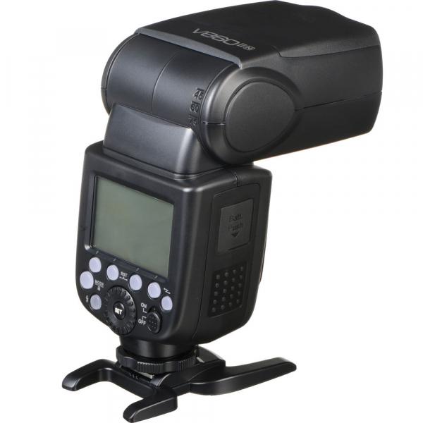 Godox Ving V860N II kit blitz 2.4G Wireless i-TTL pentru Nikon, numar director 60 5