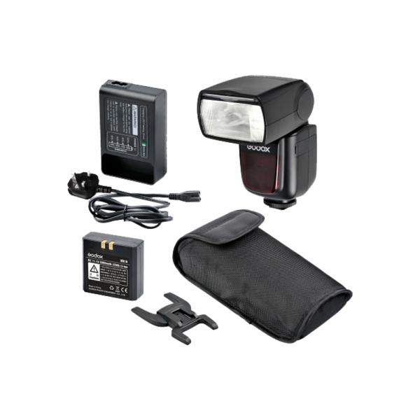 Godox Ving V860N II kit blitz 2.4G Wireless i-TTL pentru Nikon, numar director 60 0