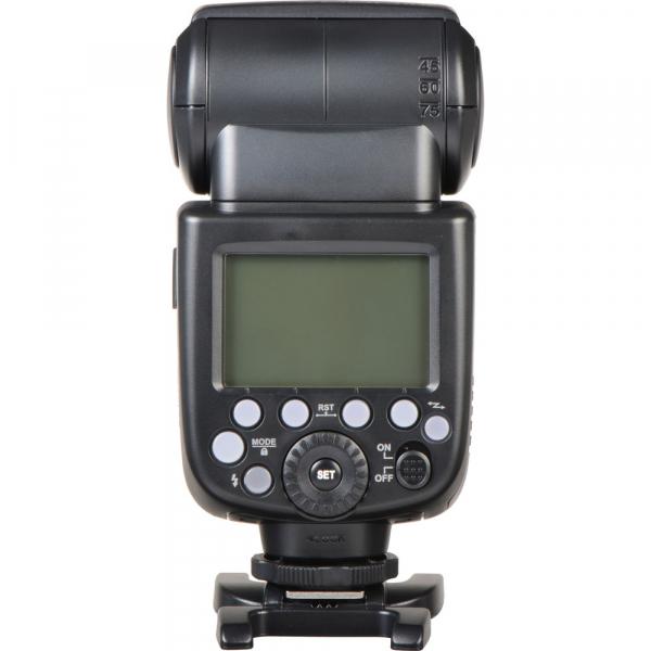 Godox Ving V860N II kit blitz 2.4G Wireless i-TTL pentru Nikon, numar director 60 3
