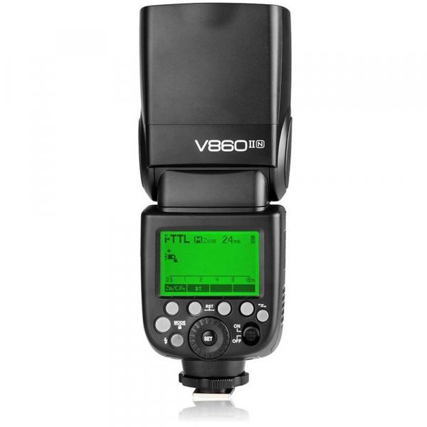 Godox Ving V860N II kit blitz 2.4G Wireless i-TTL pentru Nikon, numar director 60 2