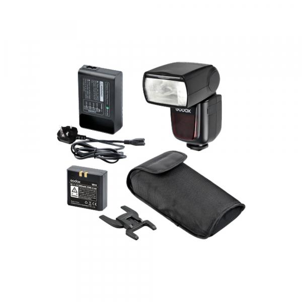Godox Ving V860S II kit blitz 2.4G Wireless TTL pentru Sony, numar director 60 0