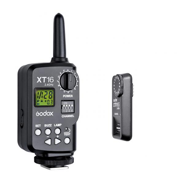Godox XT-16S - kit transmitator si receptor wireless 2.4 GHz , pentru blitz-urile Godox Ving V860/ TT685/ TT600 0