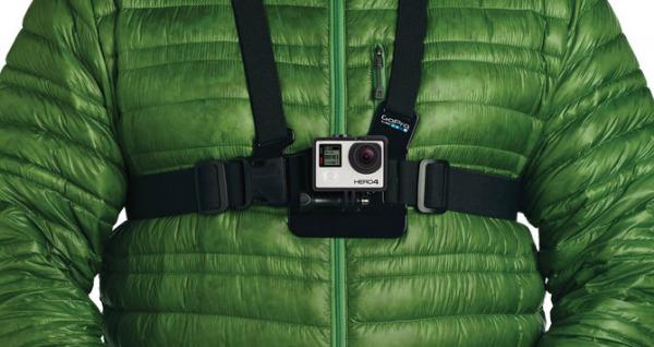 GoPro Chest Mount Harness GCHM30-001 - sistem prindere pe piept pentru HERO 1