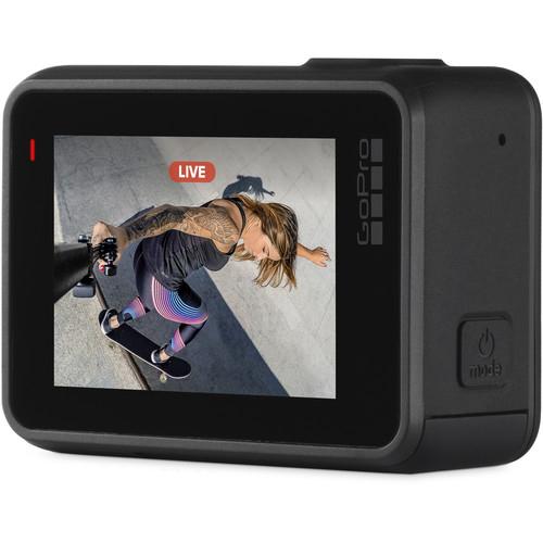 GoPro Hero 7 Black - Comenzi vocale, Stabilizare video, Wi-Fi, GPS, Rezistent la apa, 4k60/1080p240 3