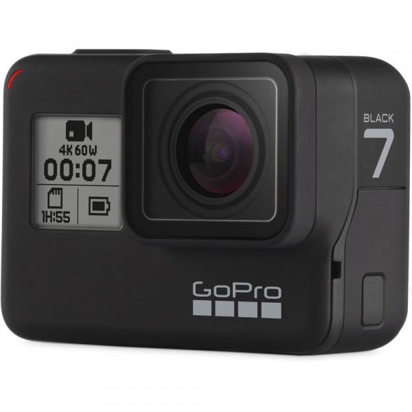 GoPro Hero 7 Black - Special Bundle Kit, Rezistent la apa, 4k60/1080p240 4