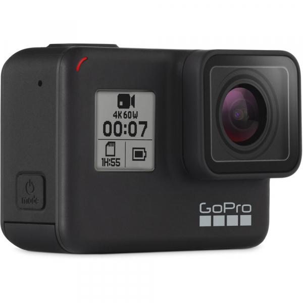 GoPro Hero 7 Black - Special Bundle Kit, Rezistent la apa, 4k60/1080p240 3