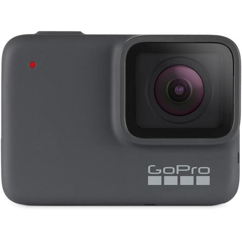 GoPro Hero 7 Silver - Comenzi vocale, Stabilizare video, GPS, Rezistent la apa, 4k30/1080p60 0