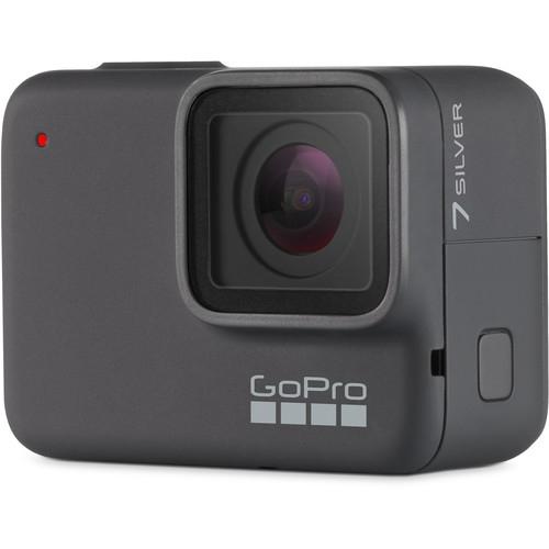 GoPro Hero 7 Silver - Comenzi vocale, Stabilizare video, GPS, Rezistent la apa, 4k30/1080p60 1