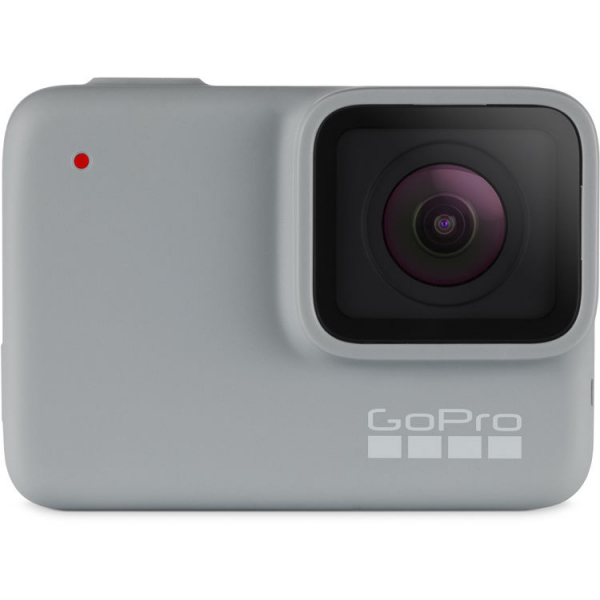 GoPro Hero 7 White - Comenzi vocale, Stabilizare video, Rezistent la apa,Touch Screen Intuitiv, Full HD 0