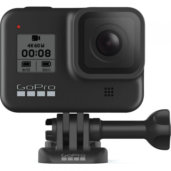GoPro Hero 8 Black - Comenzi vocale, Stabilizare video, Wi-Fi, GPS, Rezistent la apa, 4k60/1080p240 5