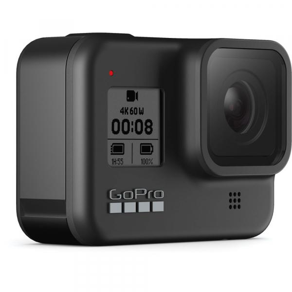 GoPro Hero 8 Black - Comenzi vocale, Stabilizare video, Wi-Fi, GPS, Rezistent la apa, 4k60/1080p240 2