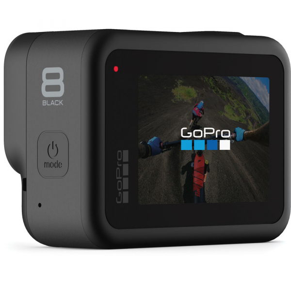 GoPro Hero 8 Black - Comenzi vocale, Stabilizare video, Wi-Fi, GPS, Rezistent la apa, 4k60/1080p240 3
