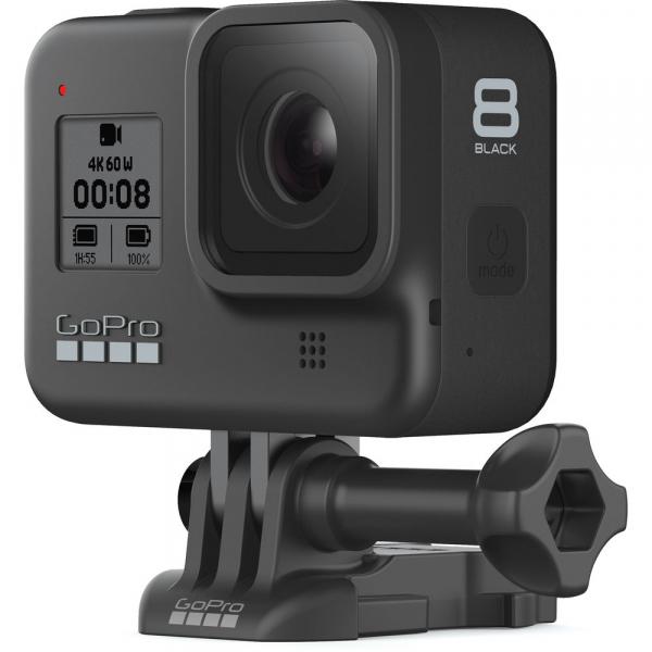 GoPro Hero 8 Black - Comenzi vocale, Stabilizare video, Wi-Fi, GPS, Rezistent la apa, 4k60/1080p240 6