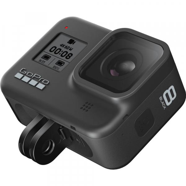 GoPro Hero 8 Black - Comenzi vocale, Stabilizare video, Wi-Fi, GPS, Rezistent la apa, 4k60/1080p240 7