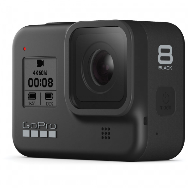 GoPro Hero 8 Black - Special Bundle Kit, Rezistent la apa, 4k60/1080p240 4