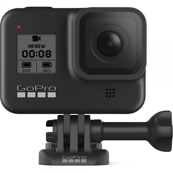 GoPro Hero 8 Black - Special Bundle Kit, Rezistent la apa, 4k60/1080p240 8