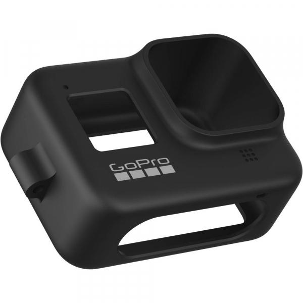 GoPro Sleeve + Lanyard AJSST-001 , husa de silicon + snur reglabil pentru HERO 8 , negru [4]