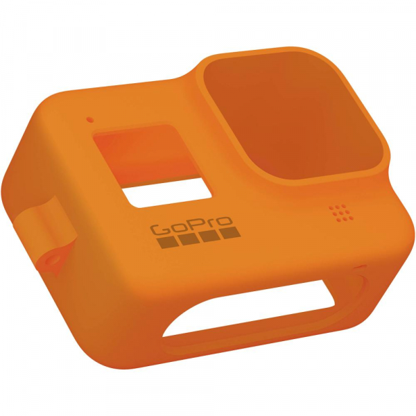 GoPro Sleeve + Lanyard AJSST-004 , husa de silicon + snur reglabil pentru HERO 8 , portocaliu [4]