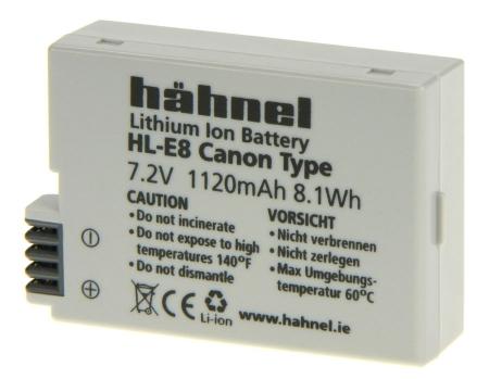 Hahnel HL-E8 - Acumulator replace tip Canon LP-E8 1120mAh [1]