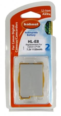 Hahnel HL-E8 - Acumulator replace tip Canon LP-E8 1120mAh [2]