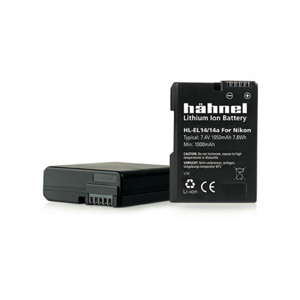 Hahnel HL-EL14 - acumulator replace tip Nikon EN-EL14 / EN-EL14a 0
