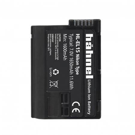 Hahnel HL-EL15 - acumulator replace pt Nikon tip EN-EL15 1650mAh [0]