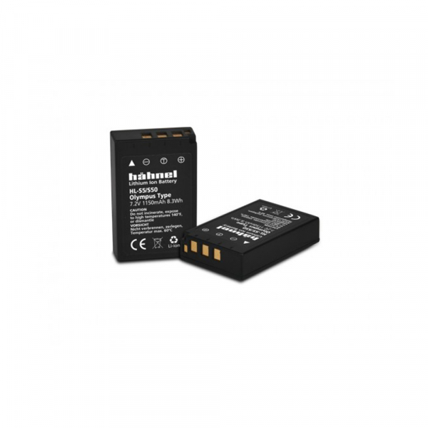 Hahnel HL-S5/S50 - acumulator replace tip Olympus BLS-5 / BLS-50, 1150mAh 1