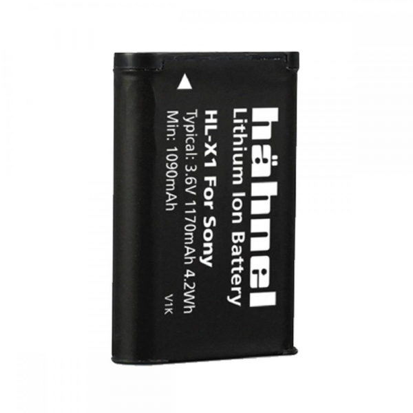 Hahnel HL-X1 - acumulator replace tip Sony NP-BX1
