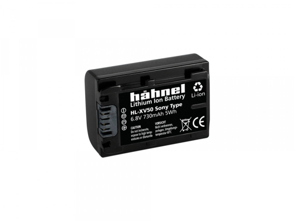 Hahnel HL-XV50 - acumulator replace tip Sony NP-FV50, 730mAh 1