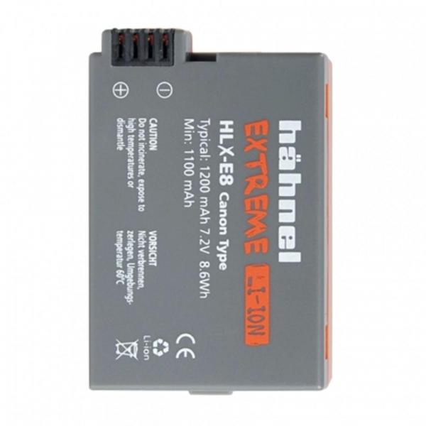 Hahnel HLX-E8 - acumulator replace tip Canon LP-E8 , 7.2V ,1200mAh [0]