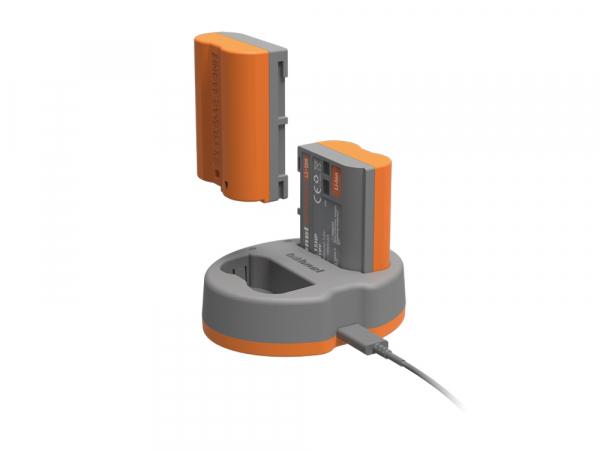 Hahnel HLX-EL15HP Extreme Power Kit , acumulator HLX-EL15 + incarcator dual pentru Nikon EN-EL15 3