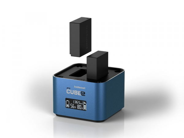Hahnel - Pro Cube 2, Incarcator Dublu pentru Fujifilm si Panasonic [2]