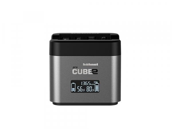 Hahnel - Pro Cube 2, Incarcator Dublu pentru Nikon EN-EL14/a , EN-EL15/a/b 0