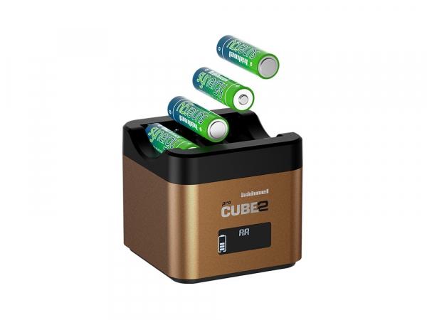 Hahnel - Pro Cube 2, Incarcator Dublu pentru Olympus 1