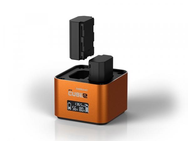 Hahnel - Pro Cube 2, Incarcator Dublu pentru Sony 2