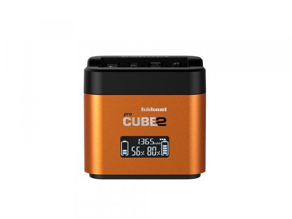 Hahnel - Pro Cube 2, Incarcator Dublu pentru Sony 0