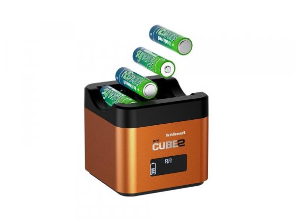 Hahnel - Pro Cube 2, Incarcator Dublu pentru Sony 1