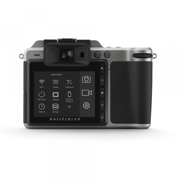 Hasselblad X1D-50c - mirrorless, format mediu body argintiu 1