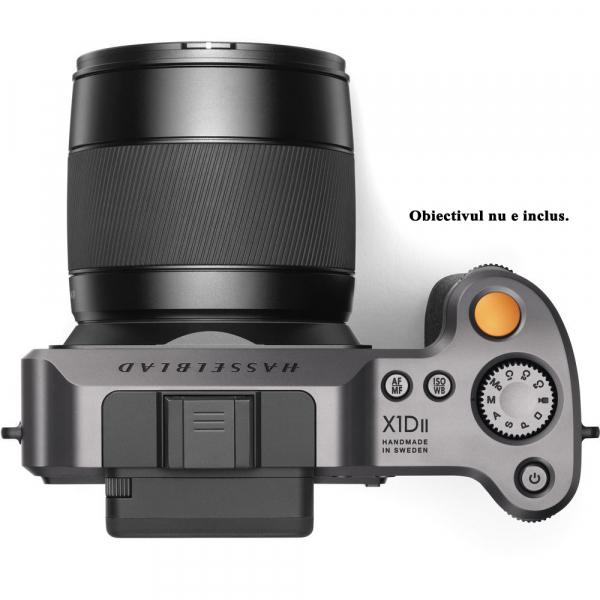 Hasselblad X1D II 50C - mirrorless, format mediu body negru 3