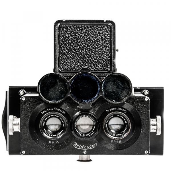 Heidoscop Stereo 6x13cm Tessar 4,5/75mm 0