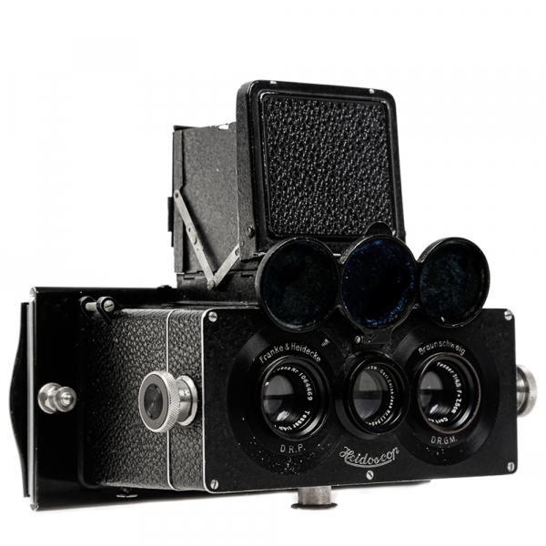 Heidoscop Stereo 6x13cm Tessar 4,5/75mm 3