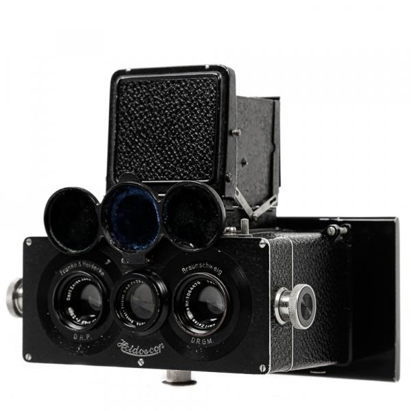 Heidoscop Stereo 6x13cm Tessar 4,5/75mm 2