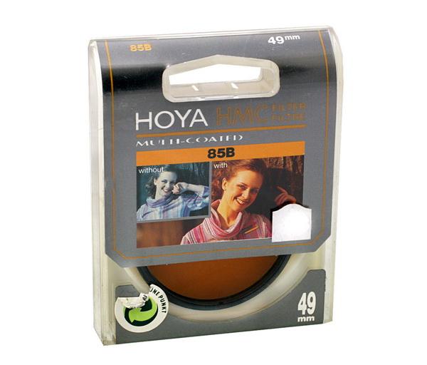Hoya Conversie 85B , 49mm 0