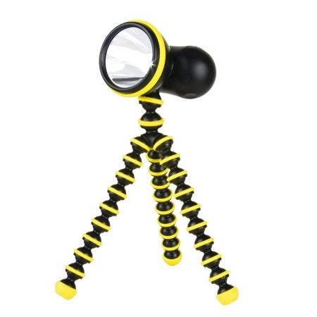 Joby GorillaTorch Original galben - lampa lumina continua cu picioare flexibile [0]