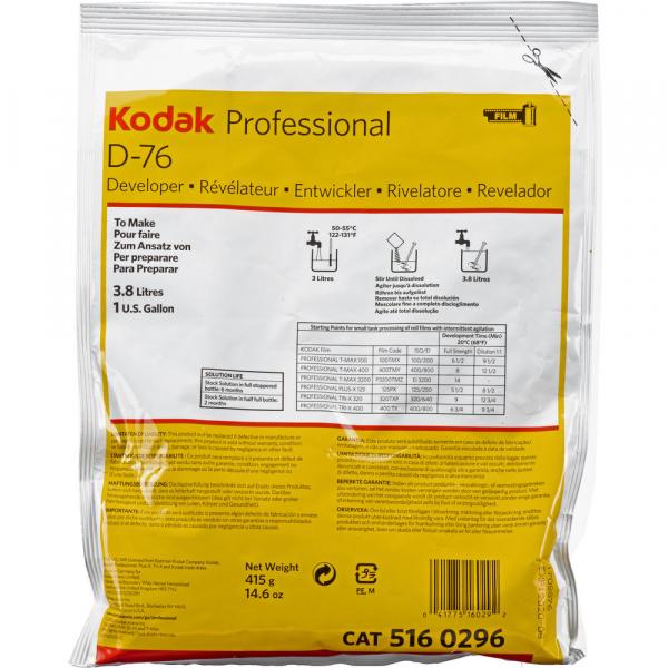 KODAK D-76 - Revelator solid pentru filme alb-negru (3.8L) 0