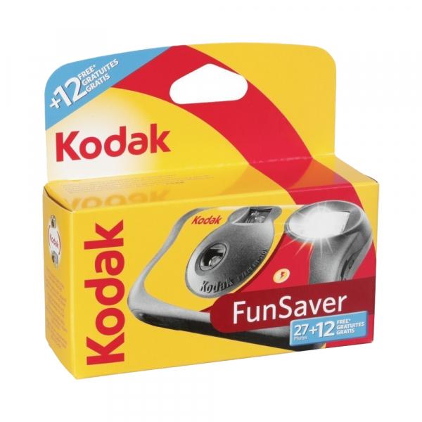 Kodak Fun Saver 27+12 - aparat foto de unica folosinta 39 cadre de 35 mm Color ISO800 0