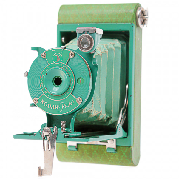 Kodak Petite verde -Vest Pocket Model B 2