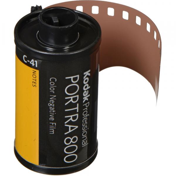 Kodak PORTRA 800 , film color negativ ingust , ISO 800, 135mm, 36 pozitii 0