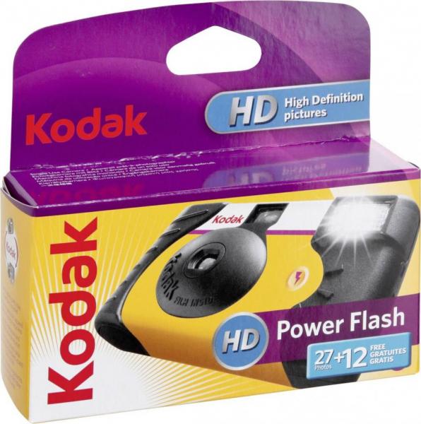 Kodak Power Flash 27+12 - aparat foto de unica folosinta 39 cadre de 35 mm Color ISO800 0